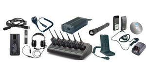 Batteries and radio equipment rentals included accessories