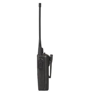 CP185 Walkie Talkie Side View (Audio Port)