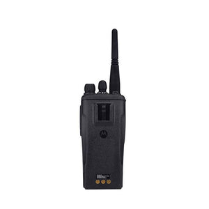 Motorola MotoTrbo CP200d Walkie Talkie Back View