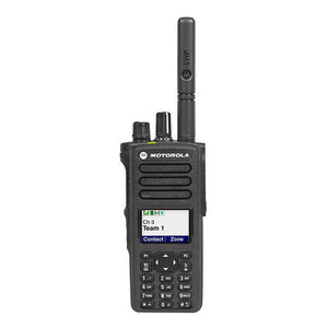 Motorola XPR7550e VHF Portable Two-Way Radio (Capable)