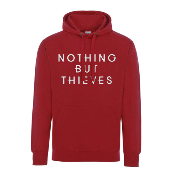 HAND HOODY RED (Features A Back Print)