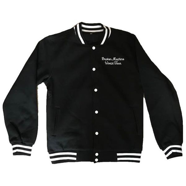BROKEN MACHINE WORLD TOUR VARSITY JACKET