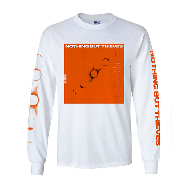 EP WHITE LONG SLEEVE T-SHIRT
