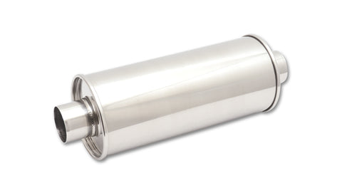 Vibrant Exhaust Stainless Steel Round Muffler