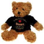 Personalised God Father Brown Teddy Bear