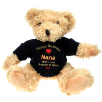 Personalised Teddy Bear Gift for Nana