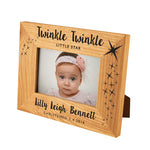 Twinkle Twinkle Little Star Oak Photo Frame