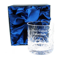 Usher Whisky Glass