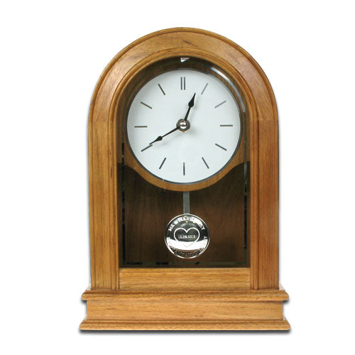 20th Wedding Anniversary Oak Clock