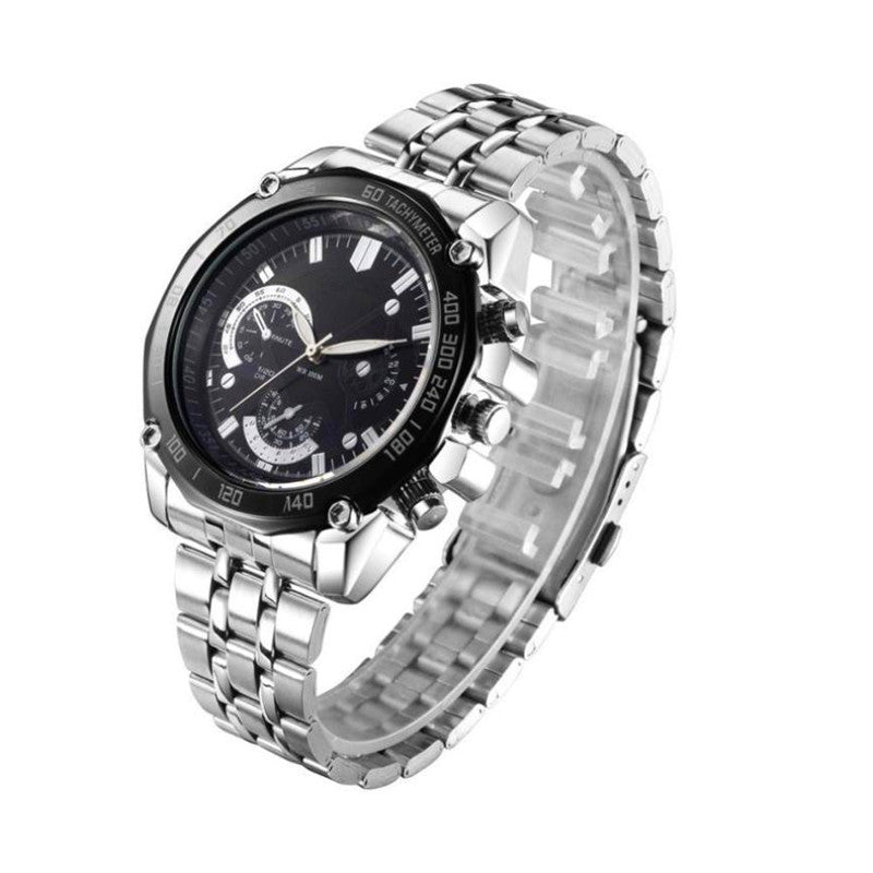 the-modern-wrist Men Luxury Stainless Steel Quartz Sport Steel Men Watch 4