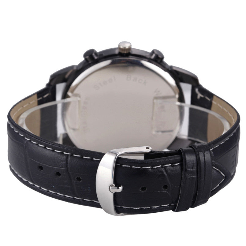 the-modern-wrist-Men's Watches Leather Strap Analog Quartz Sports-3