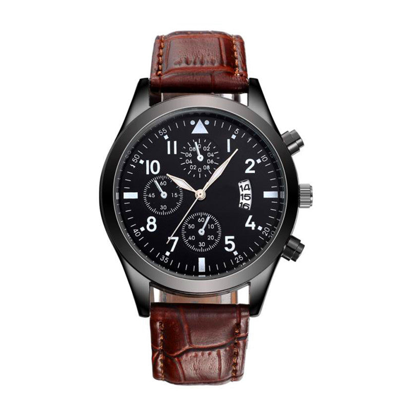 the-modern-wrist Watches Men Luxury Stainless Steel Quartz Military  1
