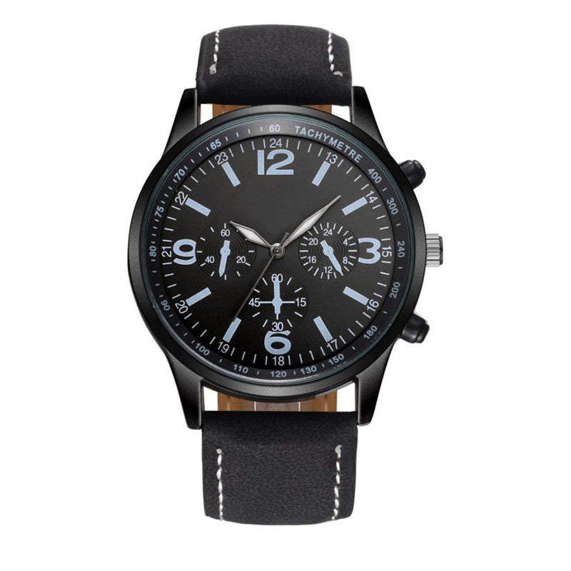 the-modern-wristSport Leather Men Watch Military Wrist Watch 1