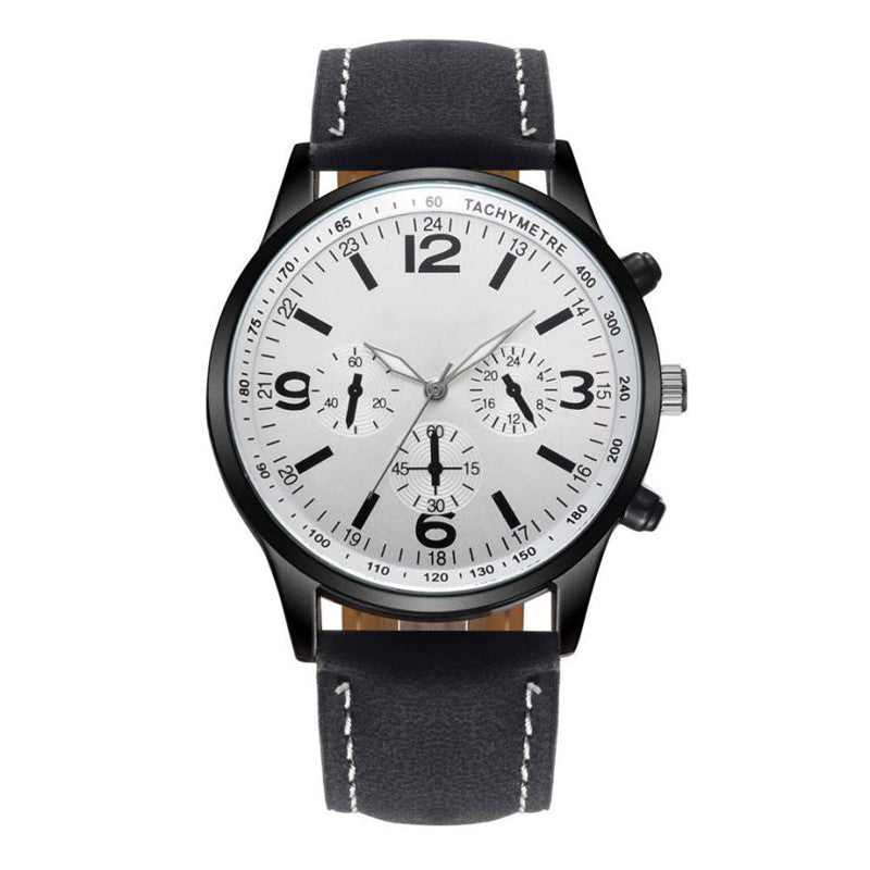 the-modern-wrist Sport Leather Men Watch Military Wrist Watch 4