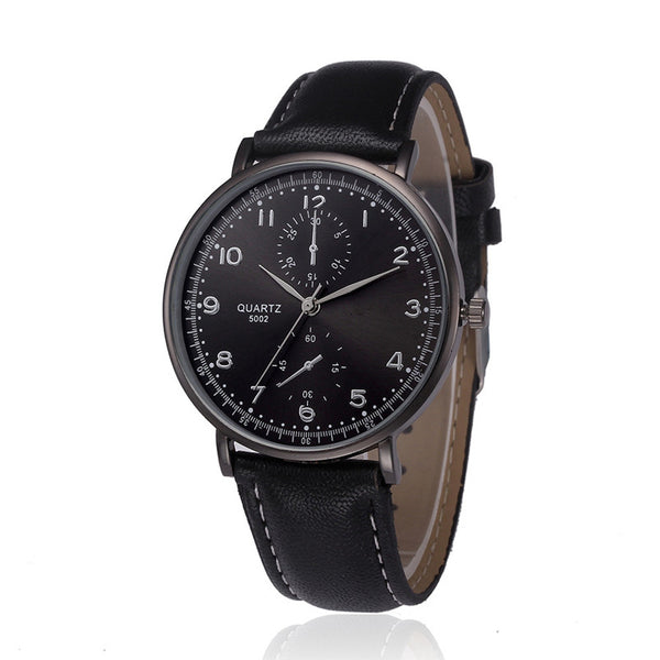 the-modern-wrist-Watches Men Luxury Retro Leather Band-2