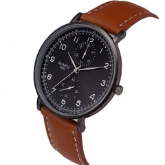 the-modern-wrist-Watches Men Luxury Retro Leather Band-3