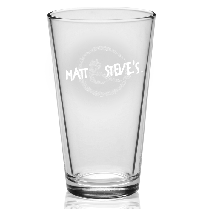 The Official Matt & Steve's Glass (3 pack)