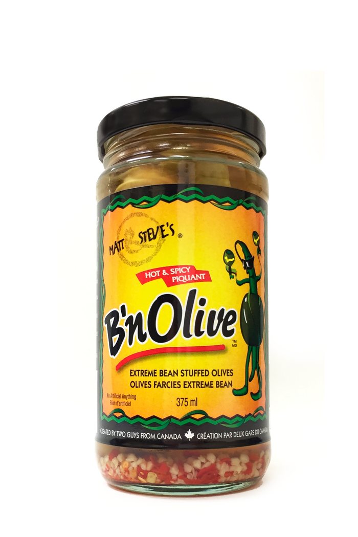 B'nOlive - Hot & Spicy [375 ML] (3 pack)