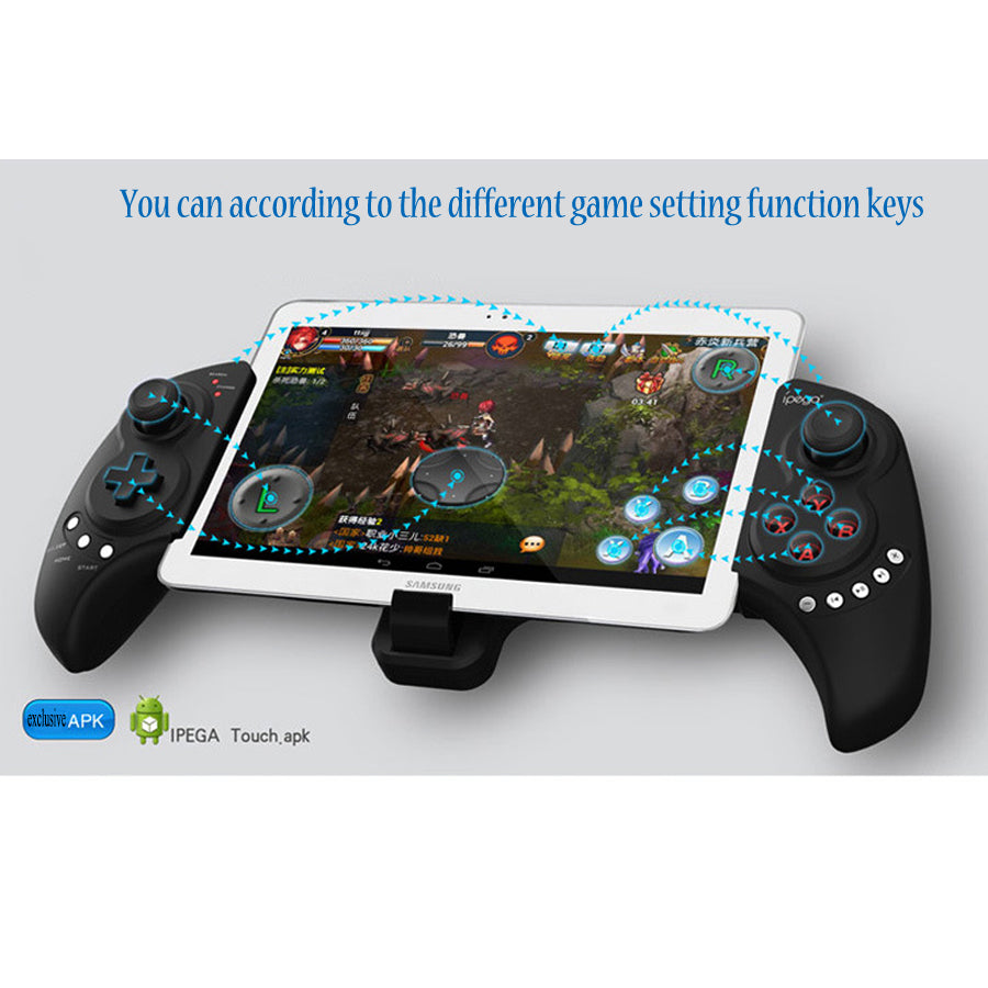 'CONTROLR' Bluetooth Universal Video Game Controller for Mobile Devices-  Android & IOS Compatible
