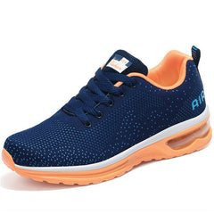 Casual Sports Walking Shoes Sneakers (Navy Design)