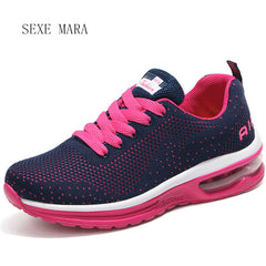 Casual Sports Walking Shoes Sneakers (Pink Design)