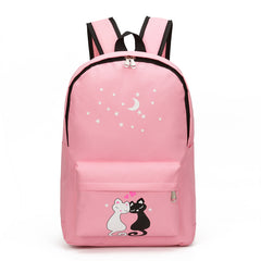 8Pcs Cute Animal Backpack Set