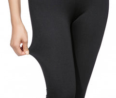 Grey Black Skinny Leggings | Black Spandex Leggings