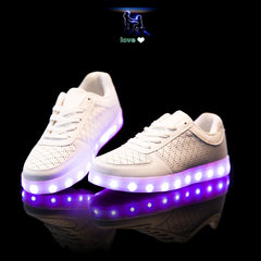 Led Lights Shoes, Breathable and USB Rechargeable