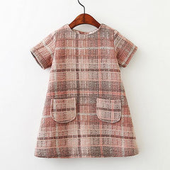 Girls Wool Dress Autumn