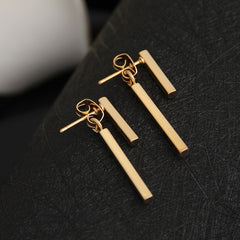 Simple T Bar Earrings