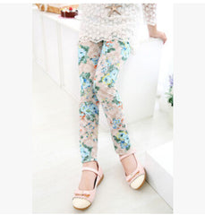 Spring Floral Autumn Children Leggings | Cool Kids Leggings - Online Store