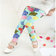 Floral Spring Autumn Children Leggings | Cool Kids Leggings - Online Store