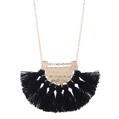Bohemian Long Tassel Dangle Necklace