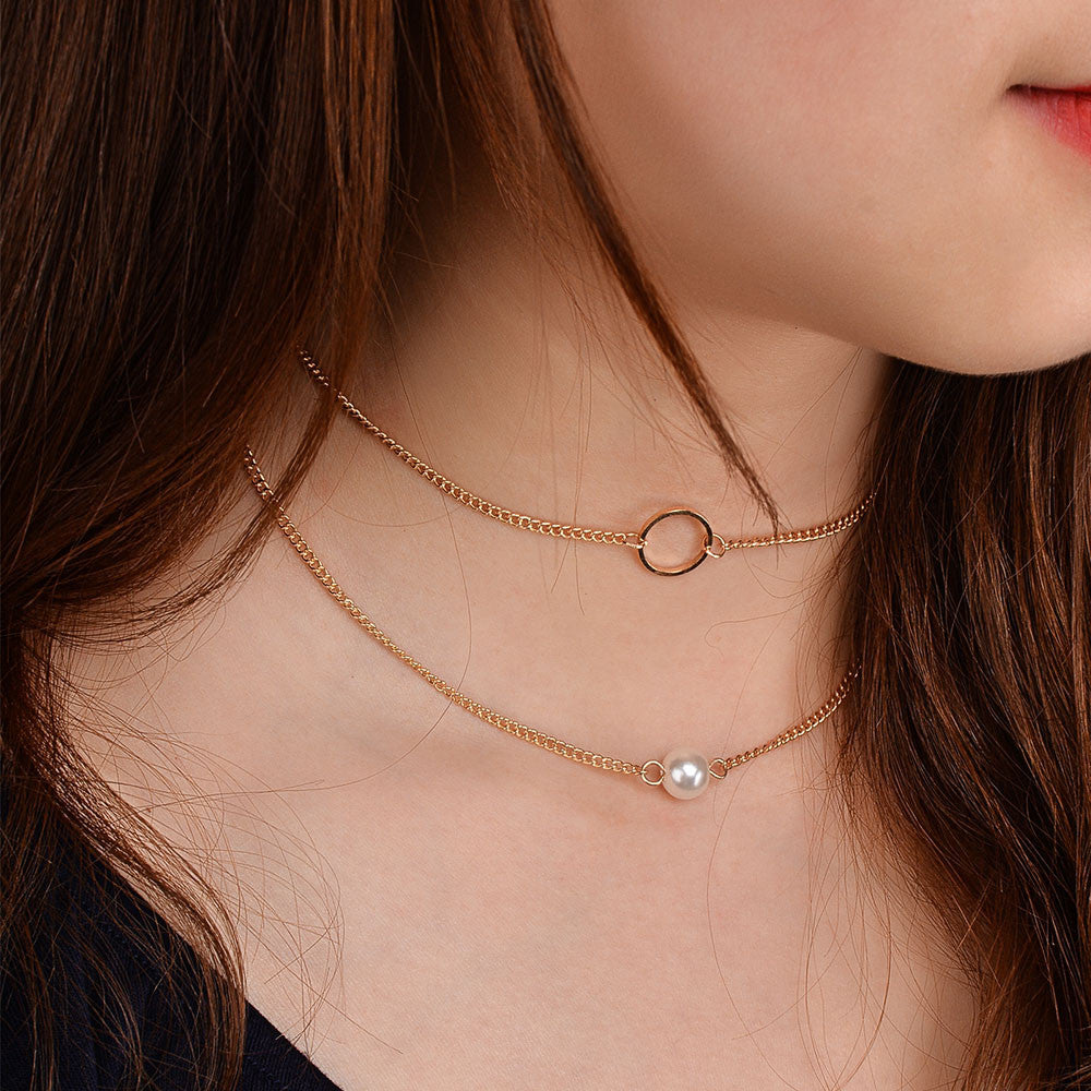 Two Piece Chain Choker