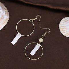 Elegant Shell Drop Dangle Earrings