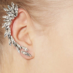 Crystal Wing Ear Cuff