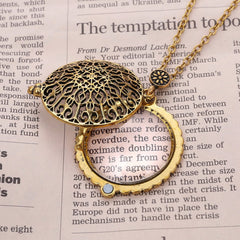 Magnifying Pendant Necklace