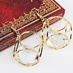 New Fashion Dangle Crystal Earrings