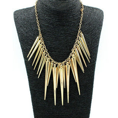 Spiky Chain Necklace