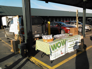 The Sun Is Shining At The Regional Market