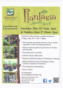 Save the Date: Plantasia at Baltimore Woods