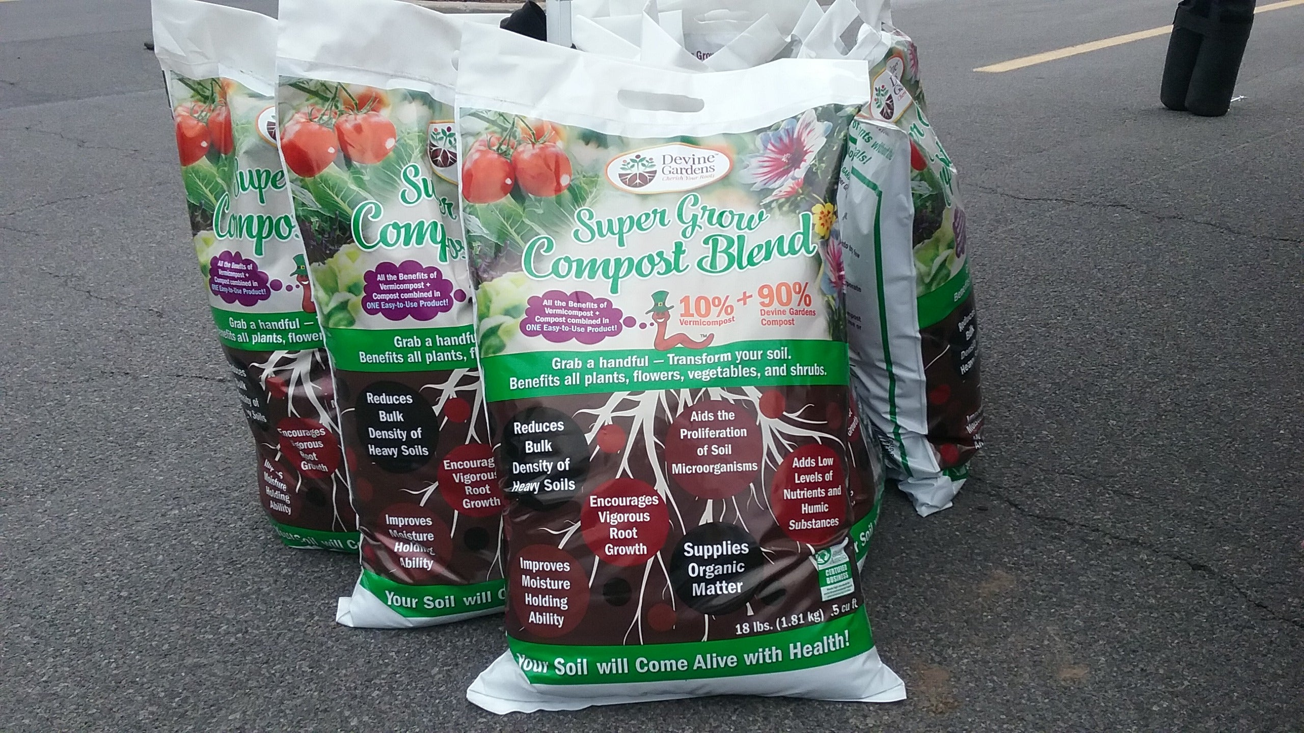 Super Grow Compost Blend