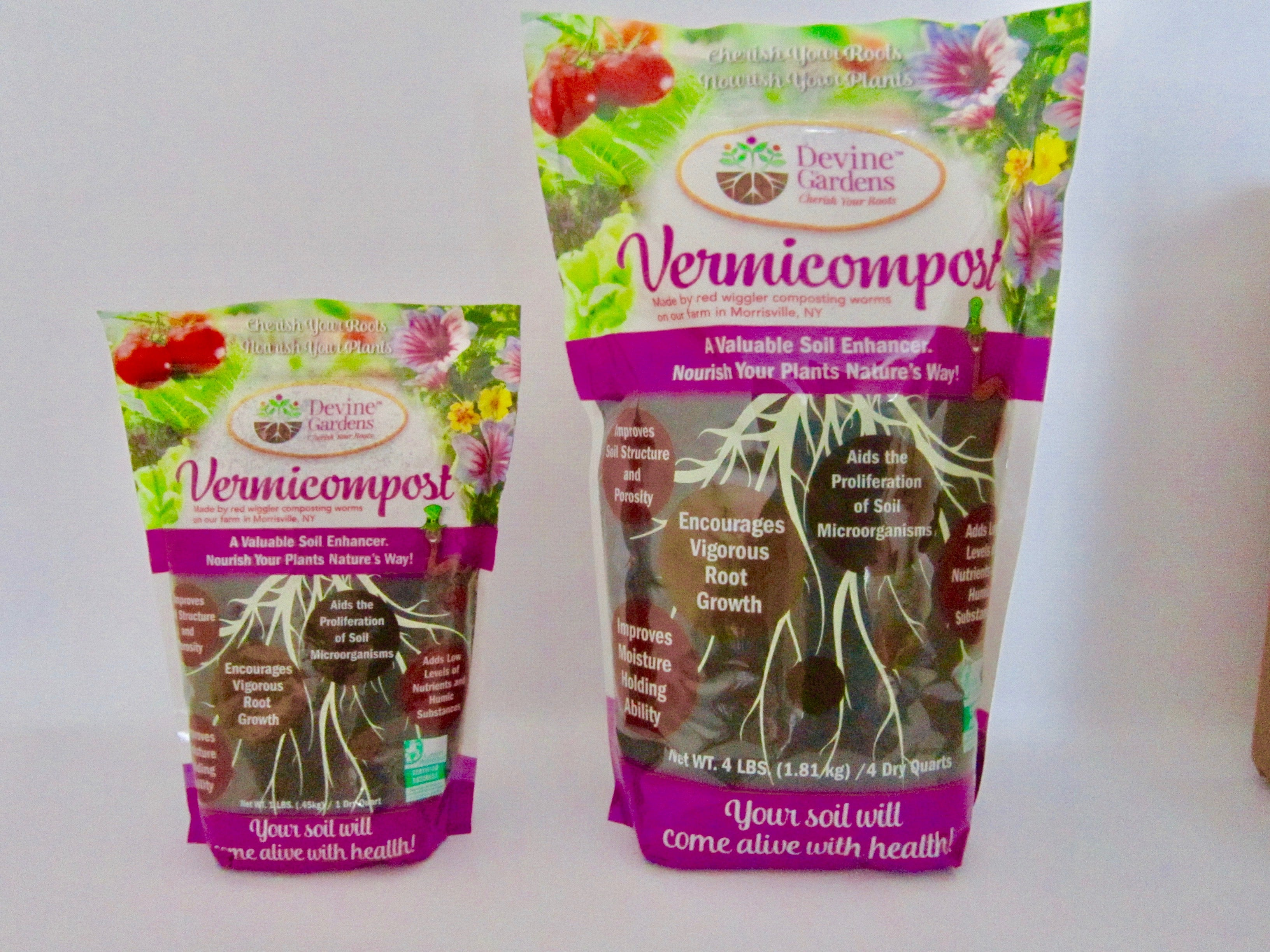 1 lb Bag of  Vermicompost
