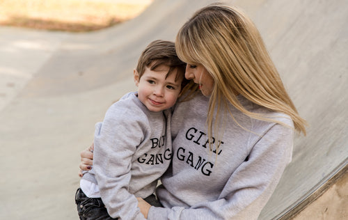 GIRL GANG & BOY GANG SWEATSHIRTS - ADULT & CHILDRENS