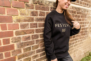 FESTIVE AF CHRISTMAS JUMPER - ADULT SWEATSHIRT