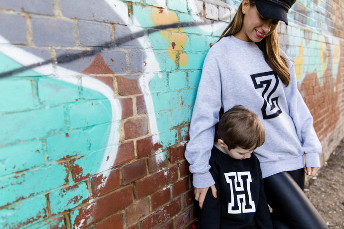 VARSITY SWEATSHIRT - ADULT & CHILDRENS