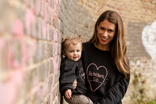 THE KIND HEARTS CLUB ORGANIC SWEATSHIRT - ADULTS
