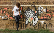 LOVE IS THE NEW BLACK TEE - WOMENS