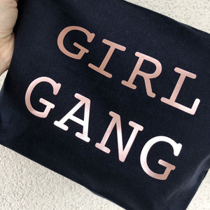 Limited Edition XL Navy Girl Gang Pouch