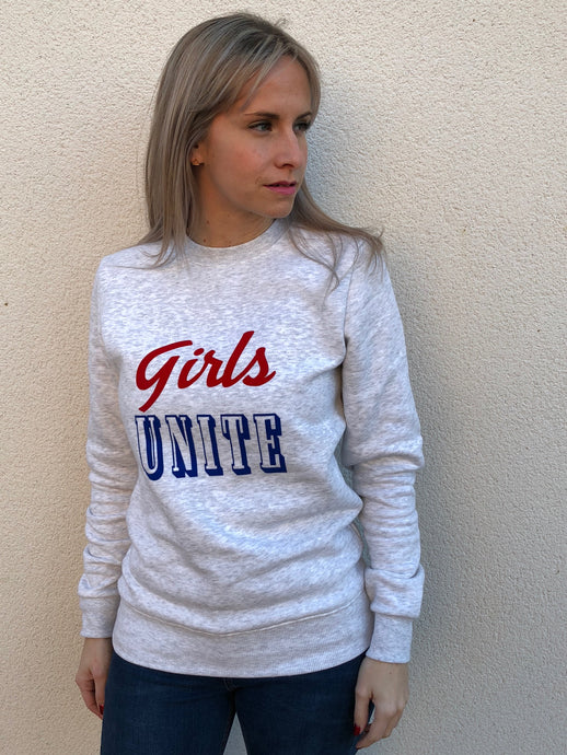GIRLS UNITE FAIR TRADE SWEATSHIRT - ADULTS